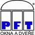logo PFT - OKNA A DVEŘE