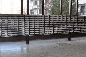Slánský - Poštovní schránky