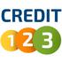 logo Credit123.cz