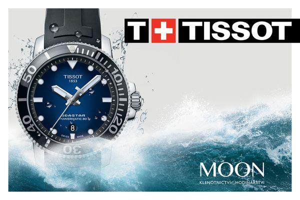 Velký výběr švýcarských hodinek značky Tissot