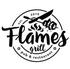 logo Flames grill pub & restaurant