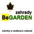 logo BeGARDEN zahrady - návrhy a realizace zahrad