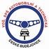 logo VOŠ, SPŠ automobilní a technická České Budějovice