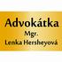 logo Advokátka Mgr. Lenka Hersheyová
