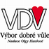 logo Výbor dobré vůle - Nadace Olgy Havlové