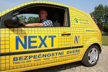 NEXT Security Ostrava - bezpečnostní dveře, fólie, mříže