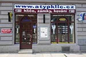Zámečnictví Atyp klíč - Josef Houdek