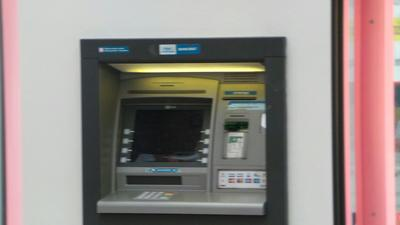 Bankomat české spořitelny
