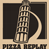 logo PIZZA REPLAY - italská restaurace