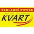 logo KVART - reklamní potisk