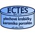 logo ECTES - plechové krabičky, keramika a porcelán