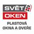 logo SVĚT OKEN - plastová okna a dveře