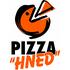 "logo Pizza ""HNED"""
