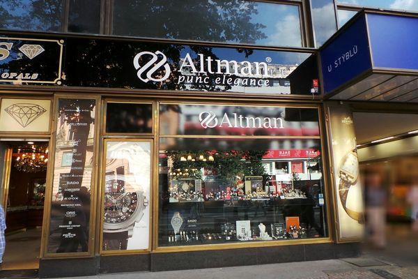 Hodinářství a Klenotnictví Altman Hodinářství a Klenotnictví Altman 6484304e38