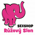 logo RůžovýSlon.cz (sexshop Růžový slon)