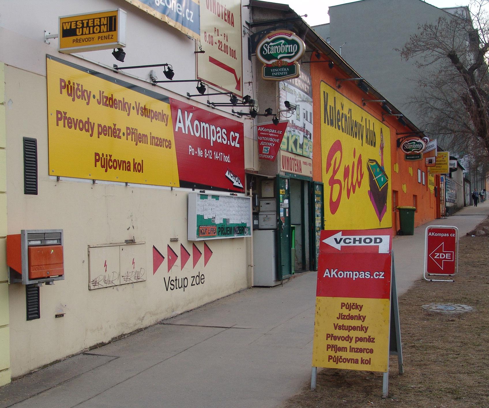 AKompas s.r.o. Brno rychlá nebankovní půjčka úvěr bez zástavy (Brno.