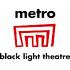 logo Divadlo Metro - Black Light Theatre Metro