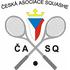 logo Česká asociace squashe o.s.