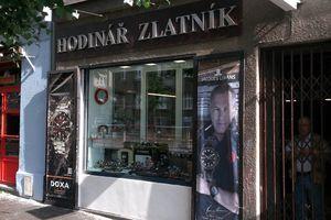 Hodinář - Zlatník Karel Zahradník