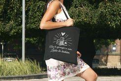 Knihomolská nákupní taška