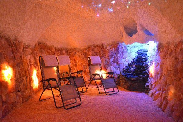 Výsledek obrázku pro solná jeskyně