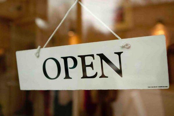 Máme otevřeno